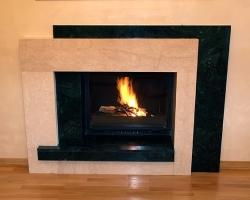 Affordable Granite Fireplaces from MC Granite
