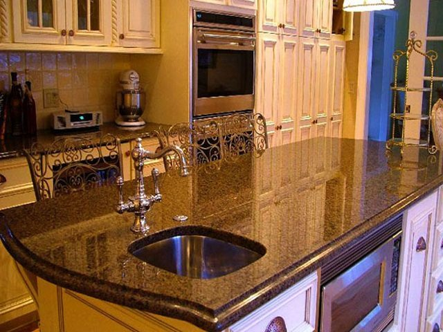 Granite Edge Profiles Undermount Sinks Countertops In