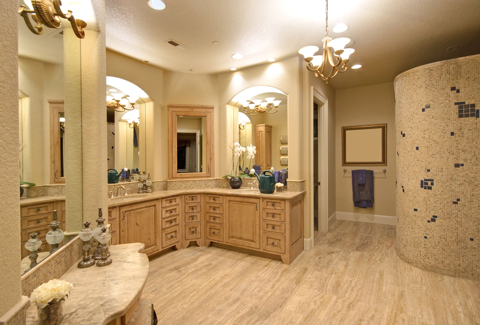 50557229 – master bathroom in newly constructed luxury home